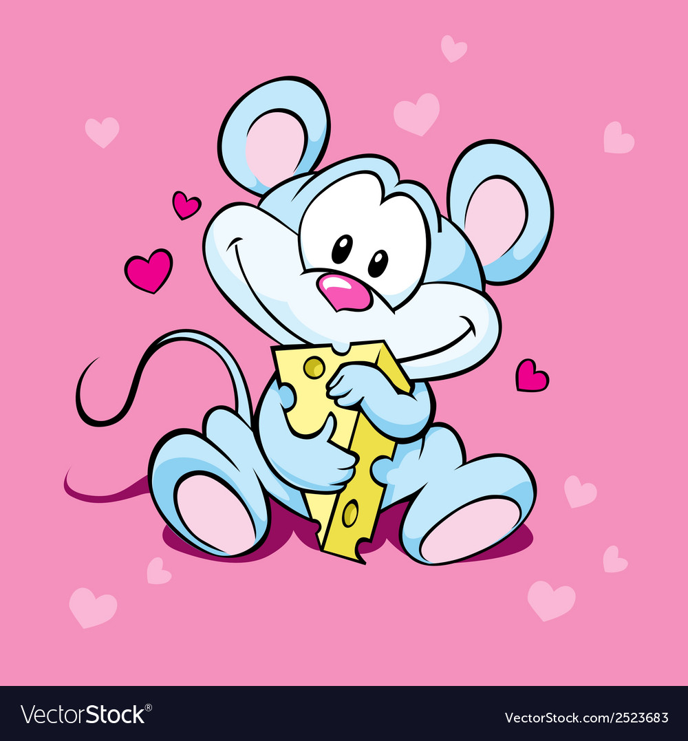 Cute mouse vector | Price: 1 Credit (USD $1)