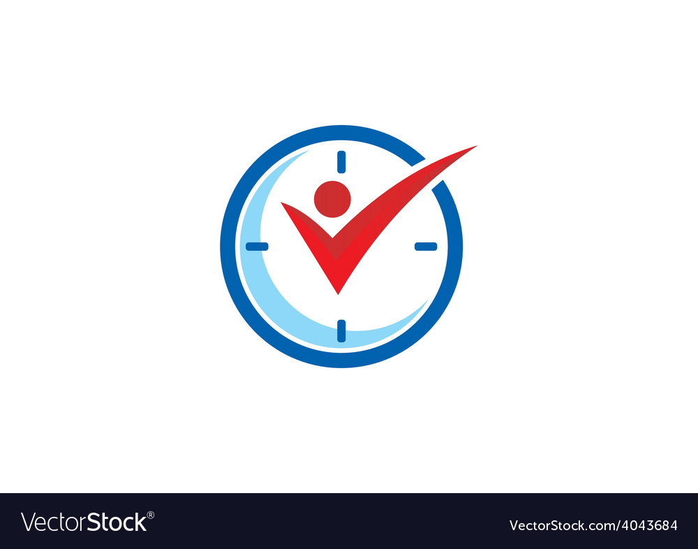 Active people time logo vector | Price: 1 Credit (USD $1)