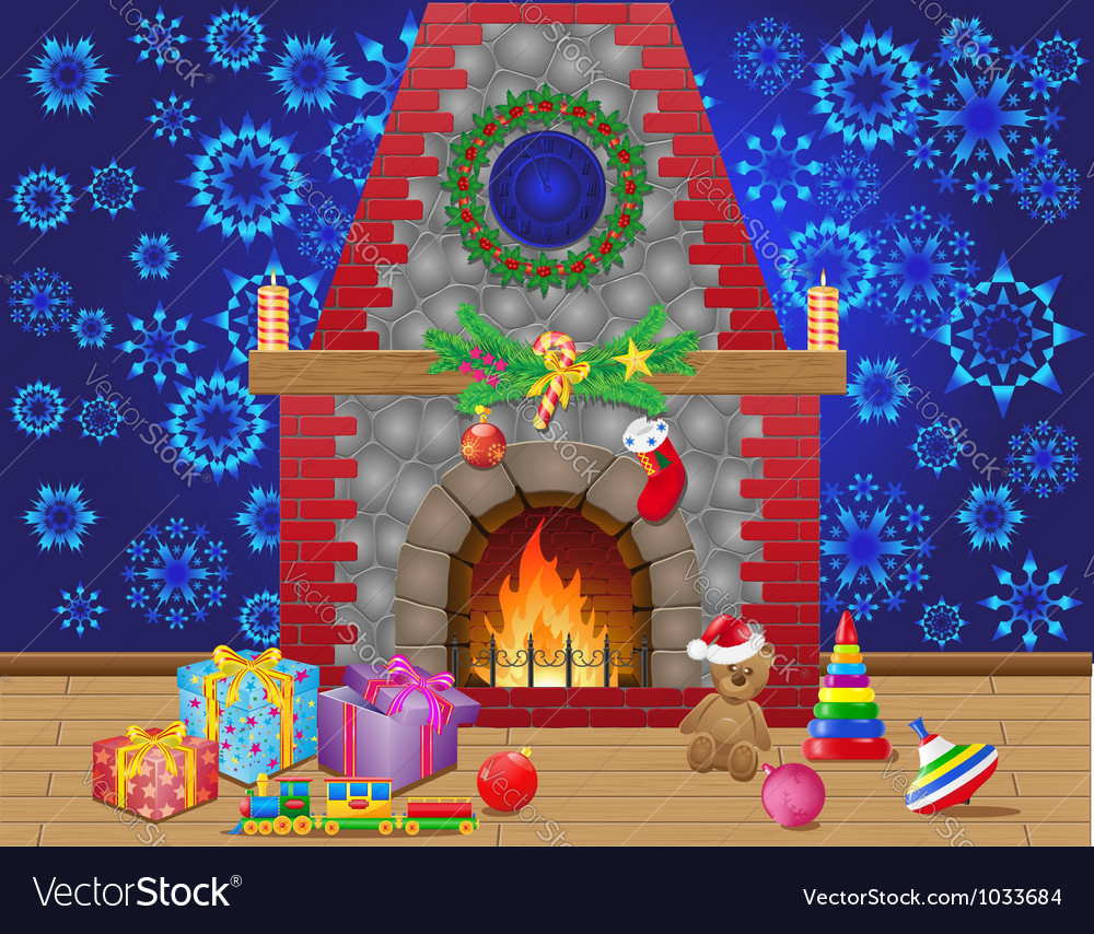 Fireplace 04 vector | Price: 1 Credit (USD $1)