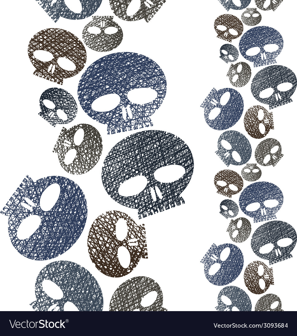 Horror and hard rock theme repeating background vector | Price: 1 Credit (USD $1)
