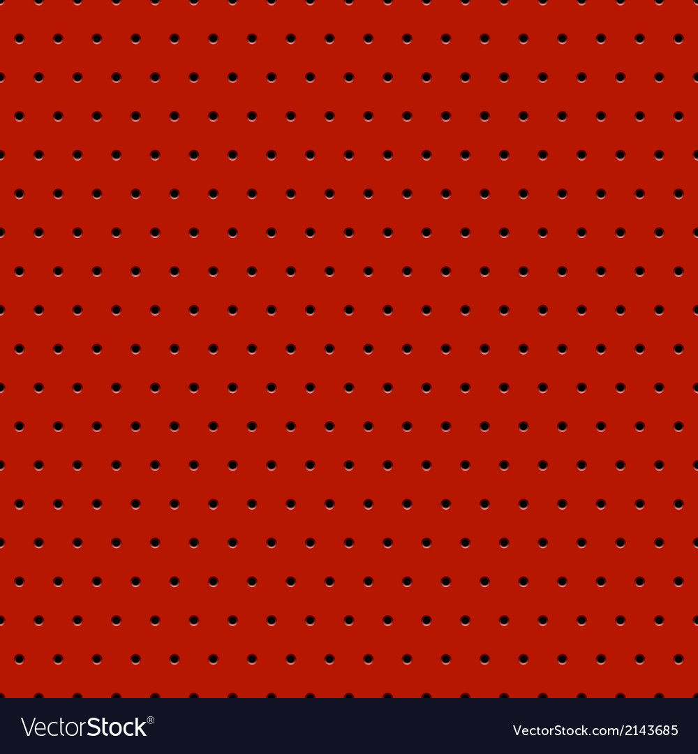 Abstract dotted red metal background vector | Price: 1 Credit (USD $1)