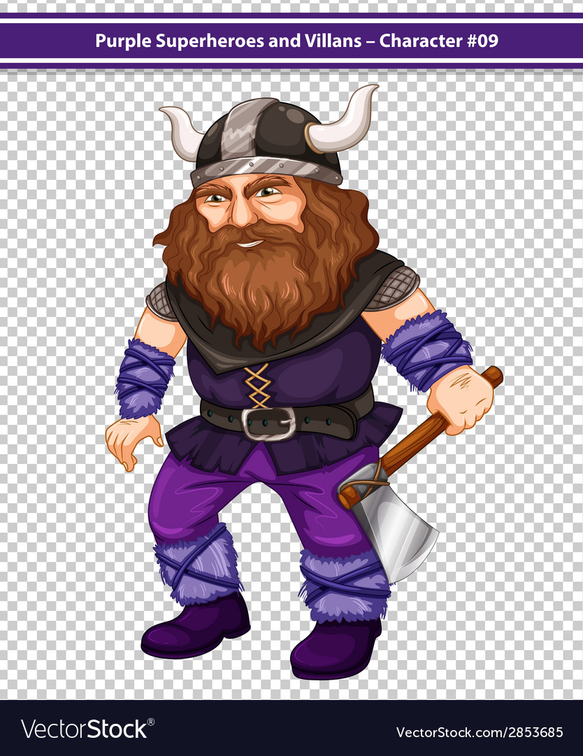 Male viking vector | Price: 3 Credit (USD $3)