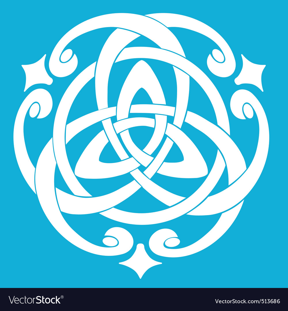 Celtic knot motif vector | Price: 1 Credit (USD $1)