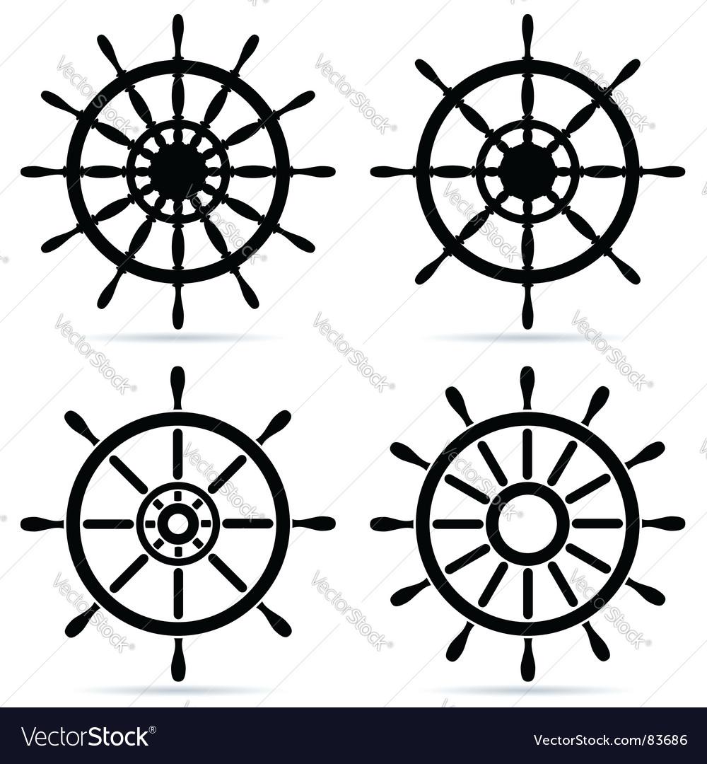 Steering wheels vector | Price: 1 Credit (USD $1)