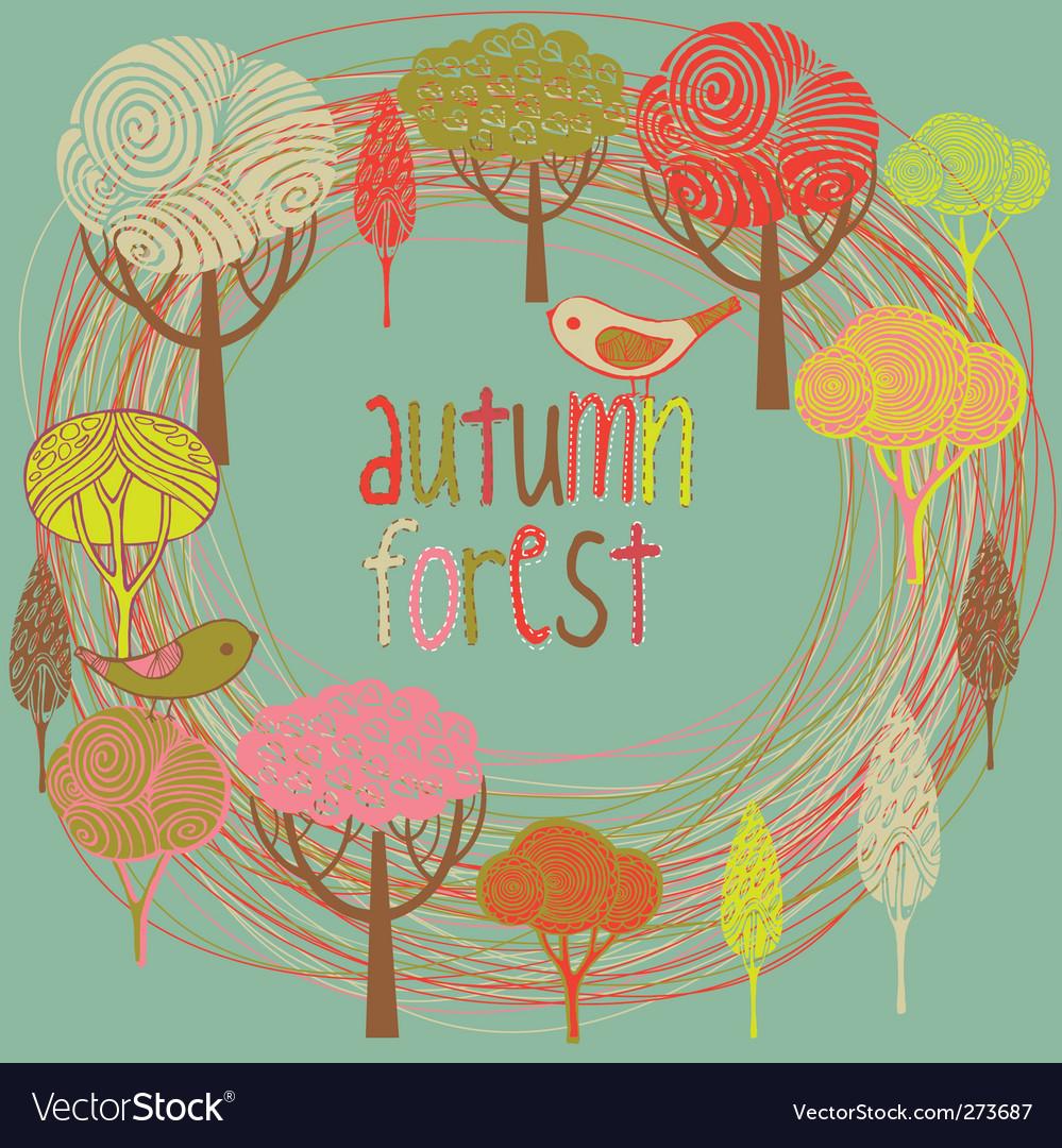 Autumn background vector | Price: 3 Credit (USD $3)