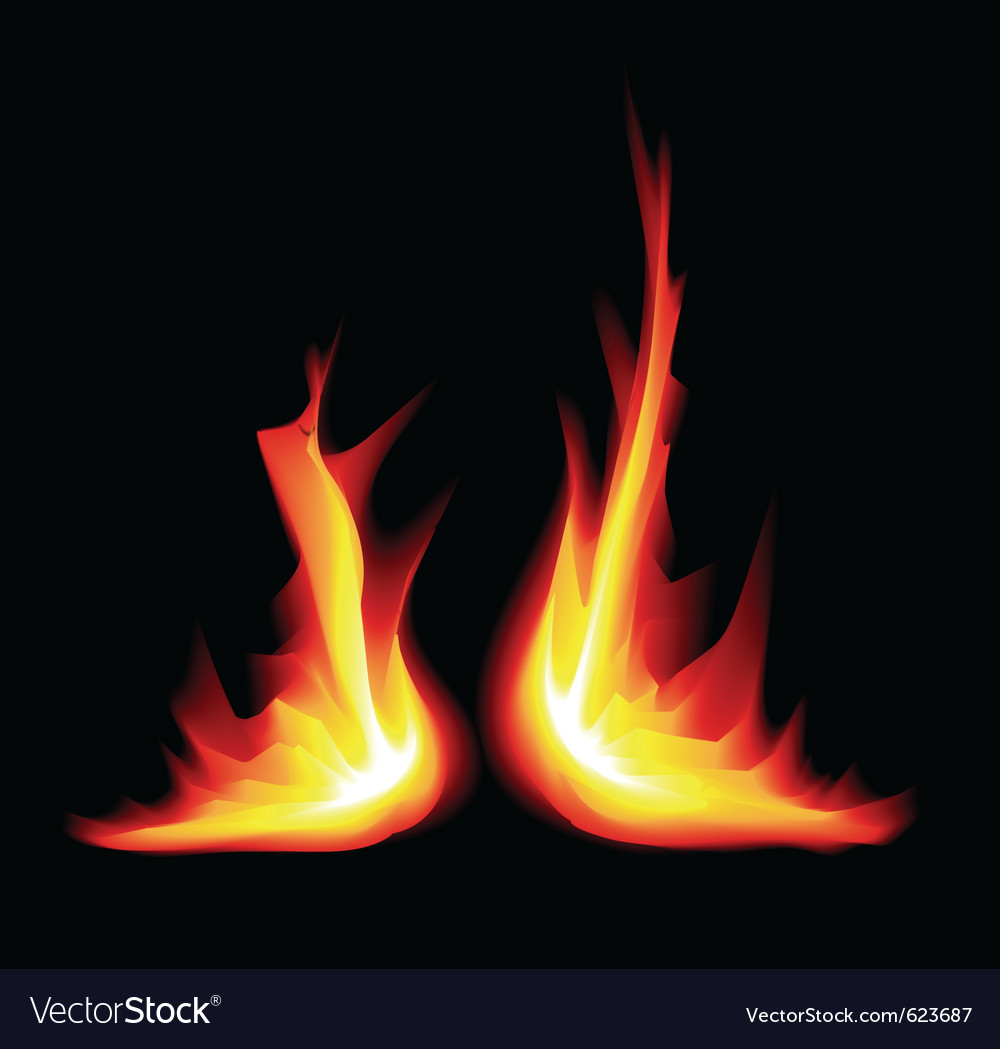 Flame graphic vector | Price: 1 Credit (USD $1)