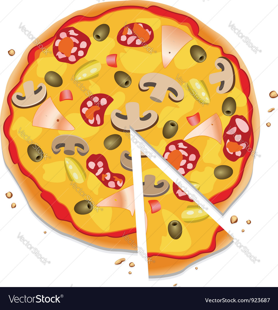 Italian pizza vector | Price: 3 Credit (USD $3)