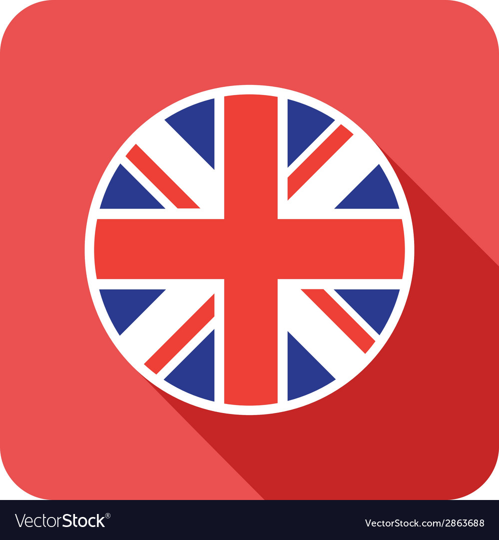 Flat britain icon vector | Price: 1 Credit (USD $1)