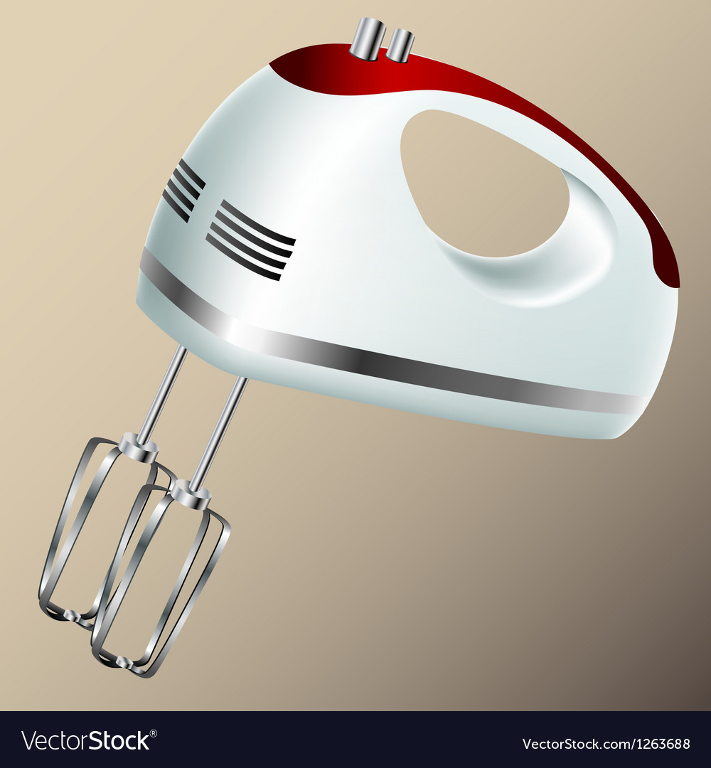 Kitchen hand mixer vector | Price: 1 Credit (USD $1)