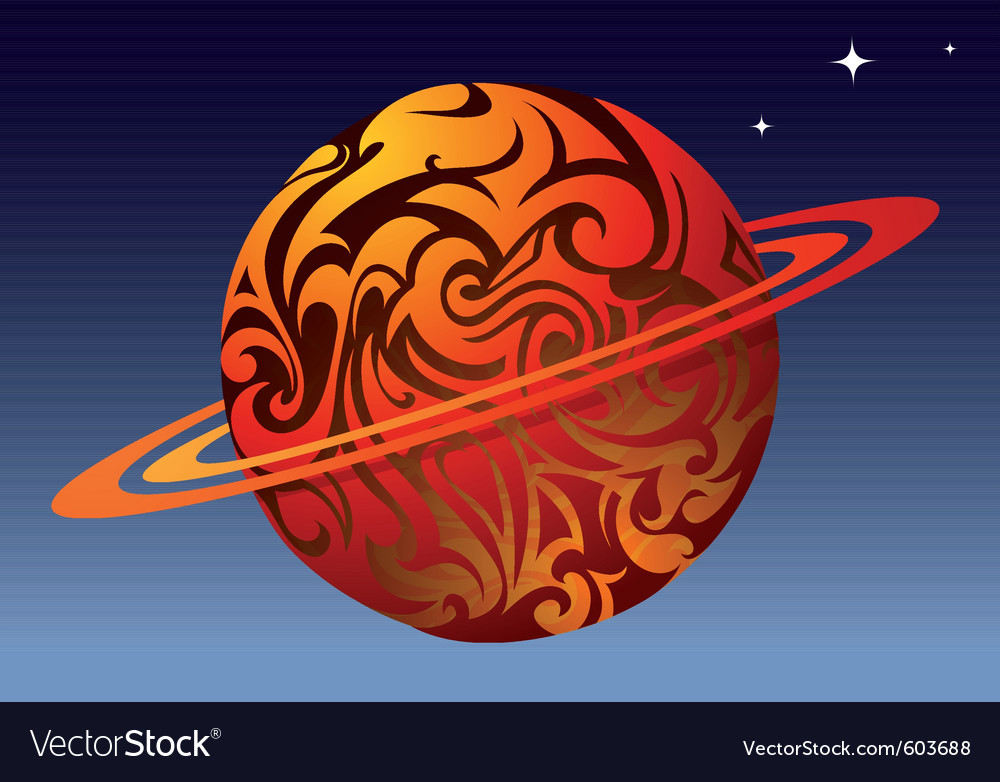 Tattoo planet vector   Price: 1 Credit (USD $1)