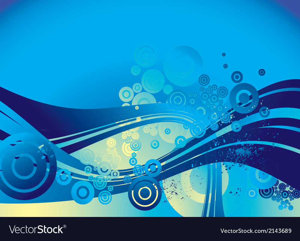 Blue lines background vector | Price: 1 Credit (USD $1)