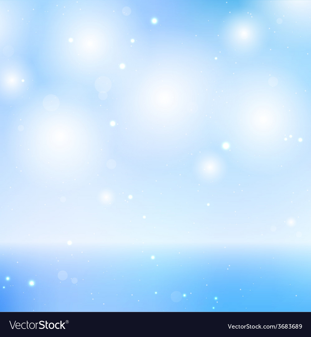 Elegant blue sky and sea background -  graphic vector | Price: 1 Credit (USD $1)
