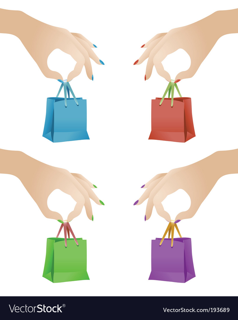 Gift bags vector | Price: 1 Credit (USD $1)