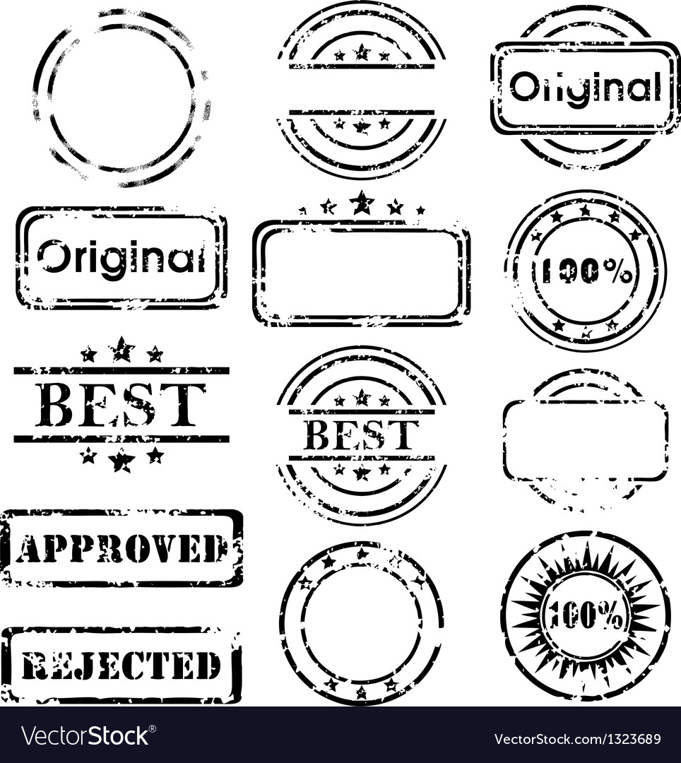 Stamp collection vector | Price: 1 Credit (USD $1)