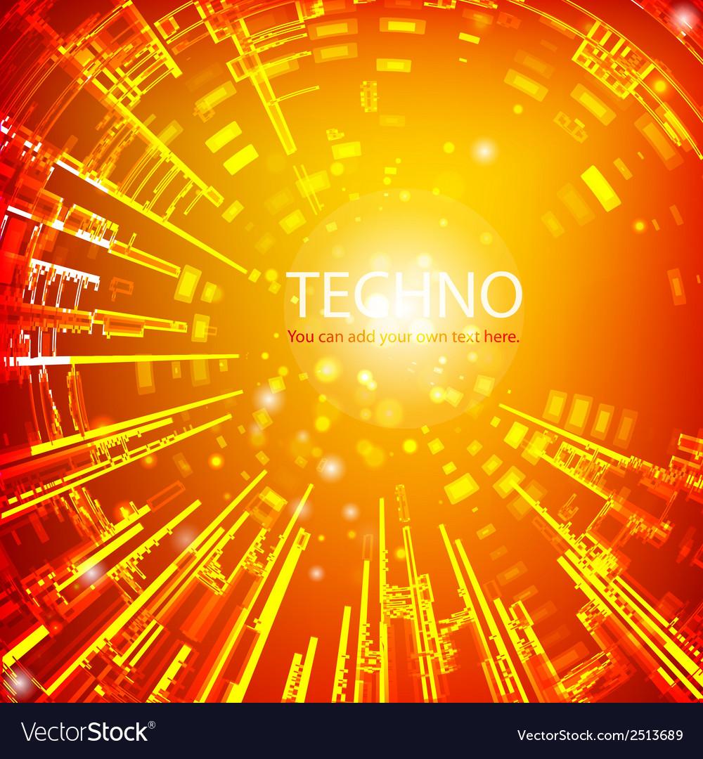 Techno 2 vector | Price: 1 Credit (USD $1)
