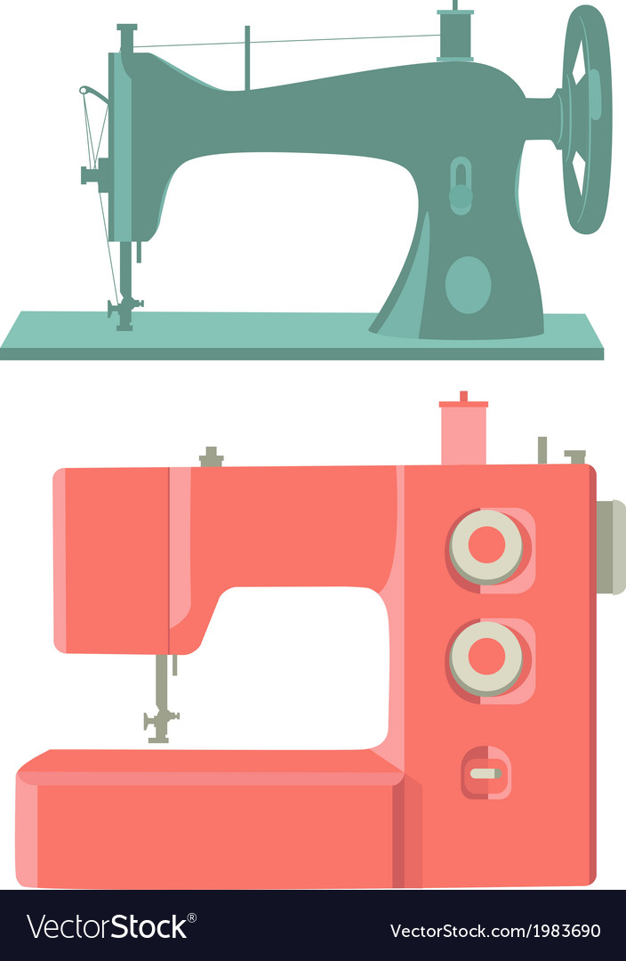 Sewing machines vector | Price: 1 Credit (USD $1)