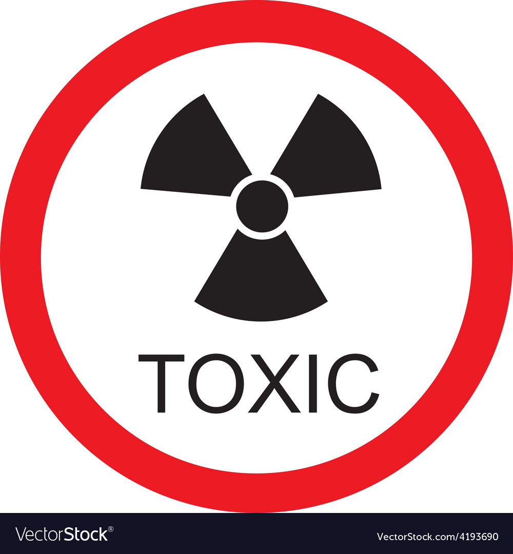 Toxic sign vector | Price: 1 Credit (USD $1)