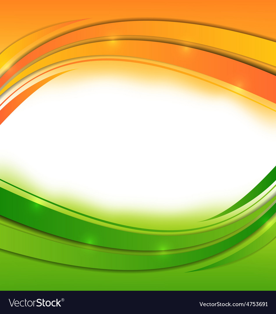 Wavy background for indian holidays vector | Price: 1 Credit (USD $1)