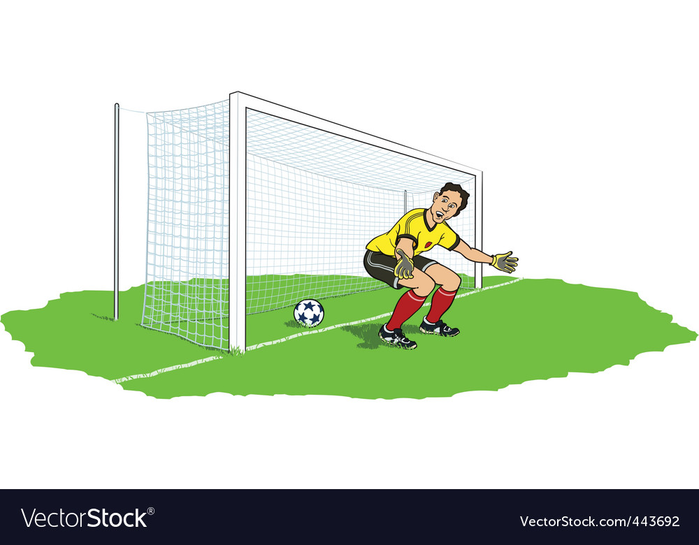 Goalkeeper bypassed vector | Price: 3 Credit (USD $3)