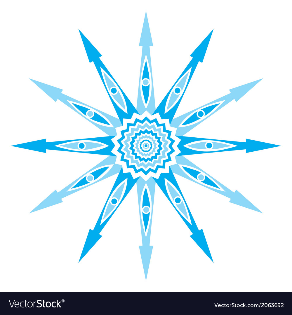 Original snowflake lace vector | Price: 1 Credit (USD $1)
