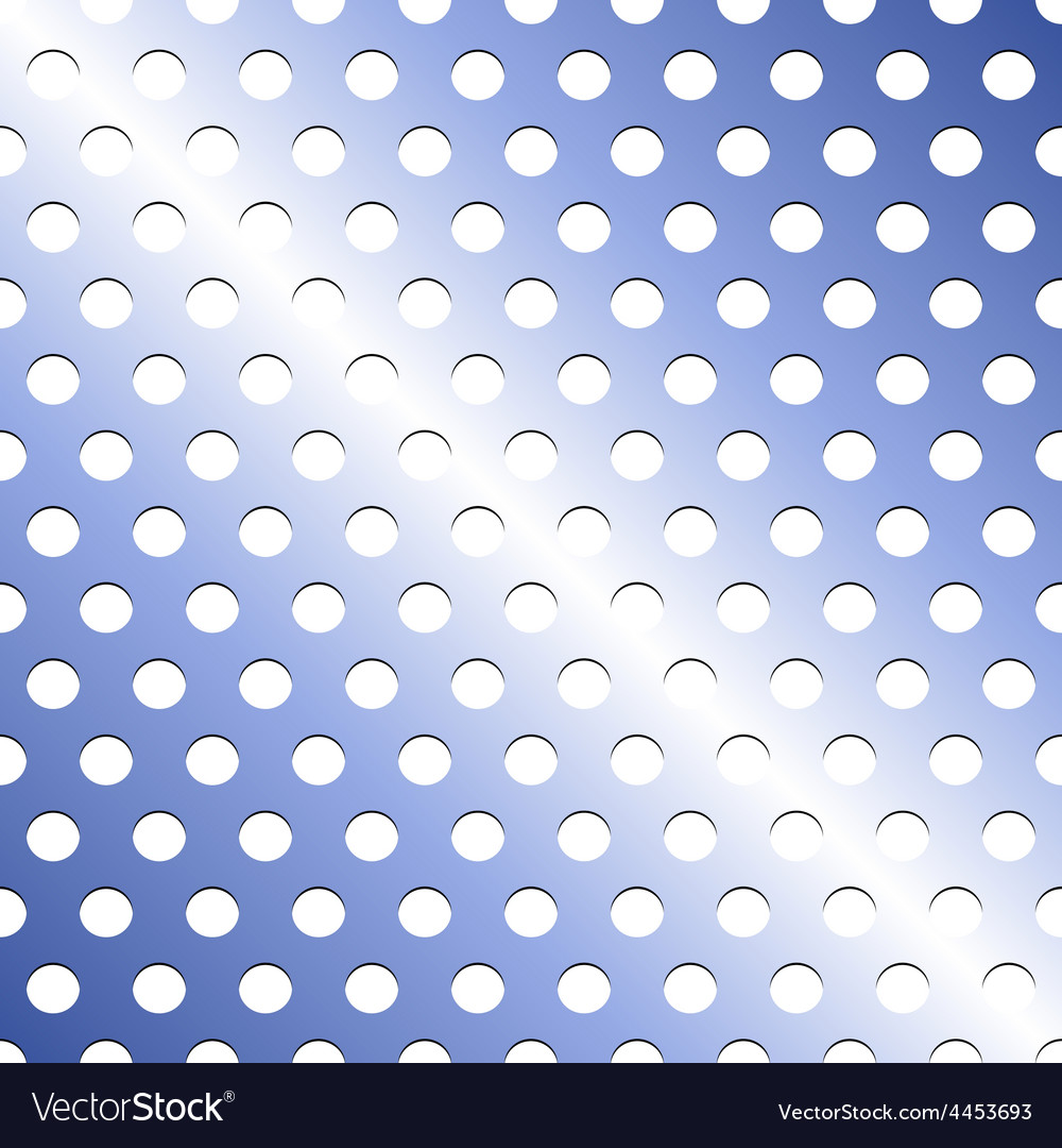 Seamless stainless blue shade metallic grid vector | Price: 1 Credit (USD $1)