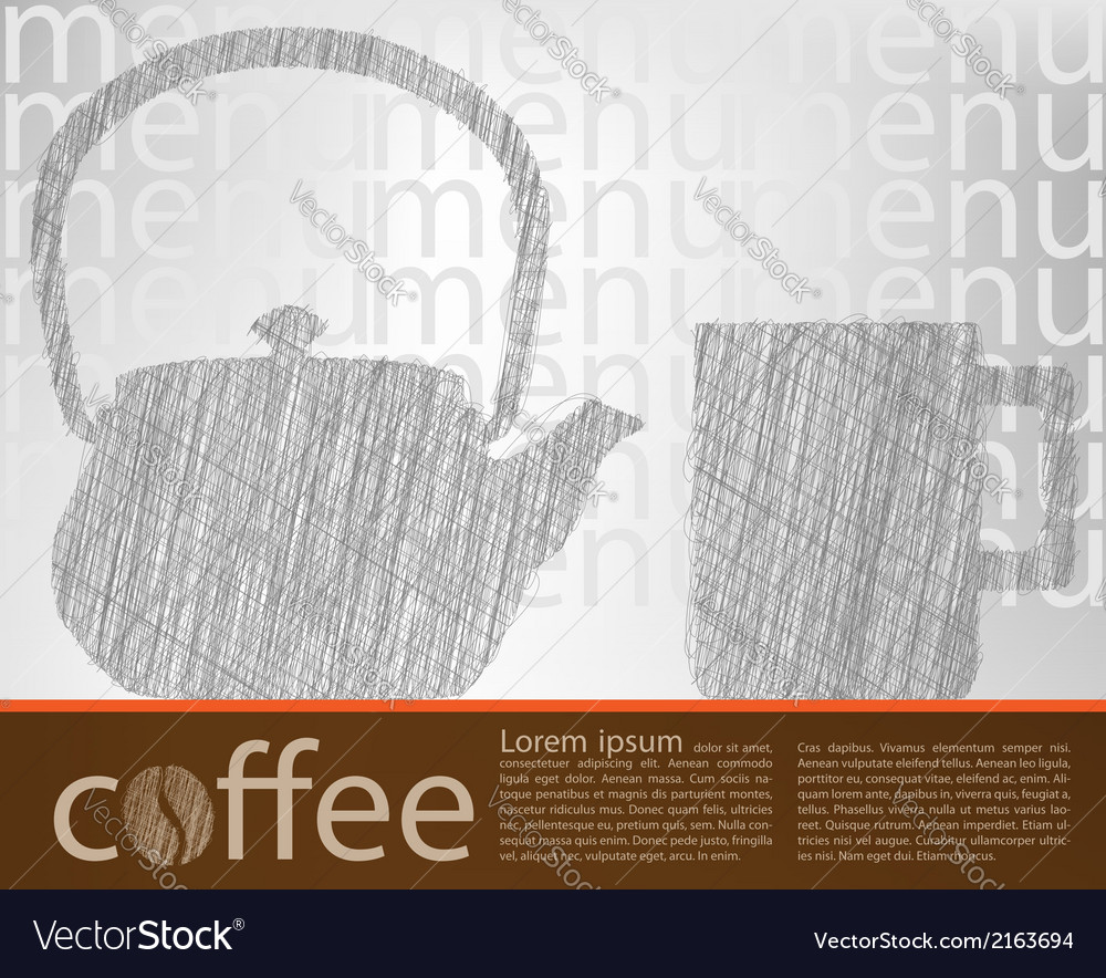 Coffee poster vector | Price: 1 Credit (USD $1)