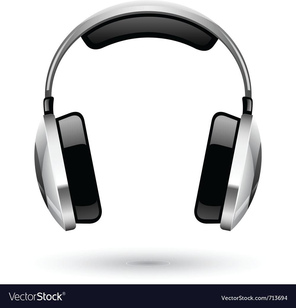 Headphones vector | Price: 3 Credit (USD $3)