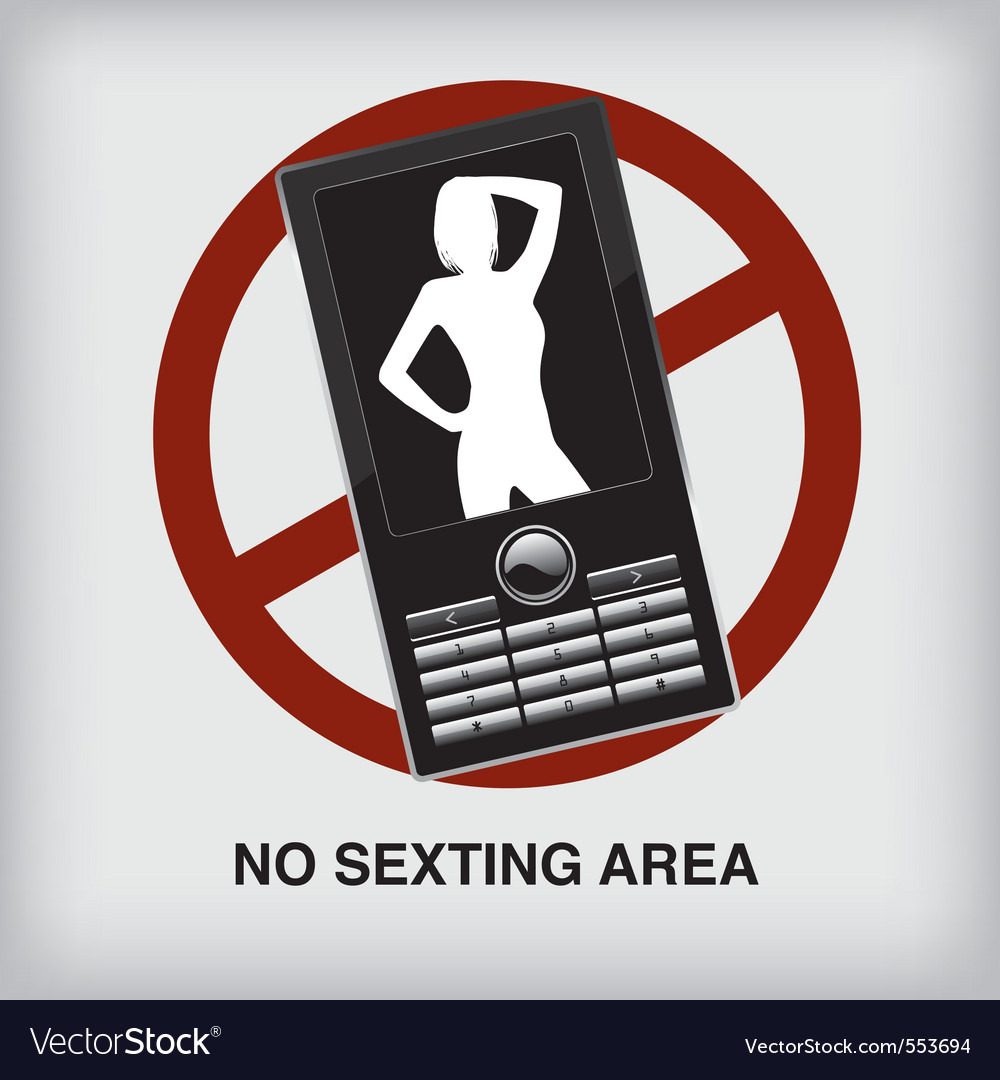 Nosexting sign vector | Price: 1 Credit (USD $1)