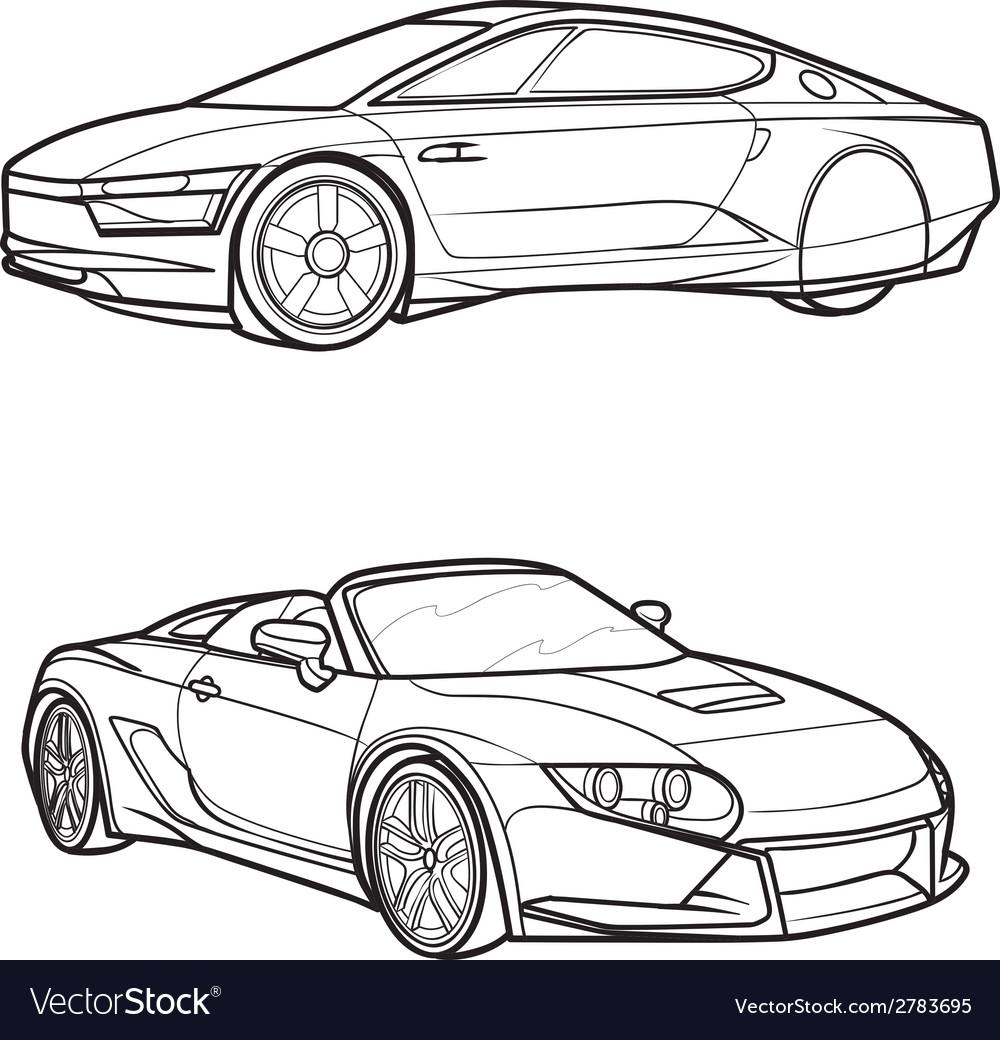Car2 vector | Price: 1 Credit (USD $1)