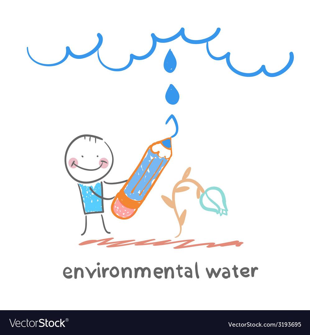Environmental water vector | Price: 1 Credit (USD $1)