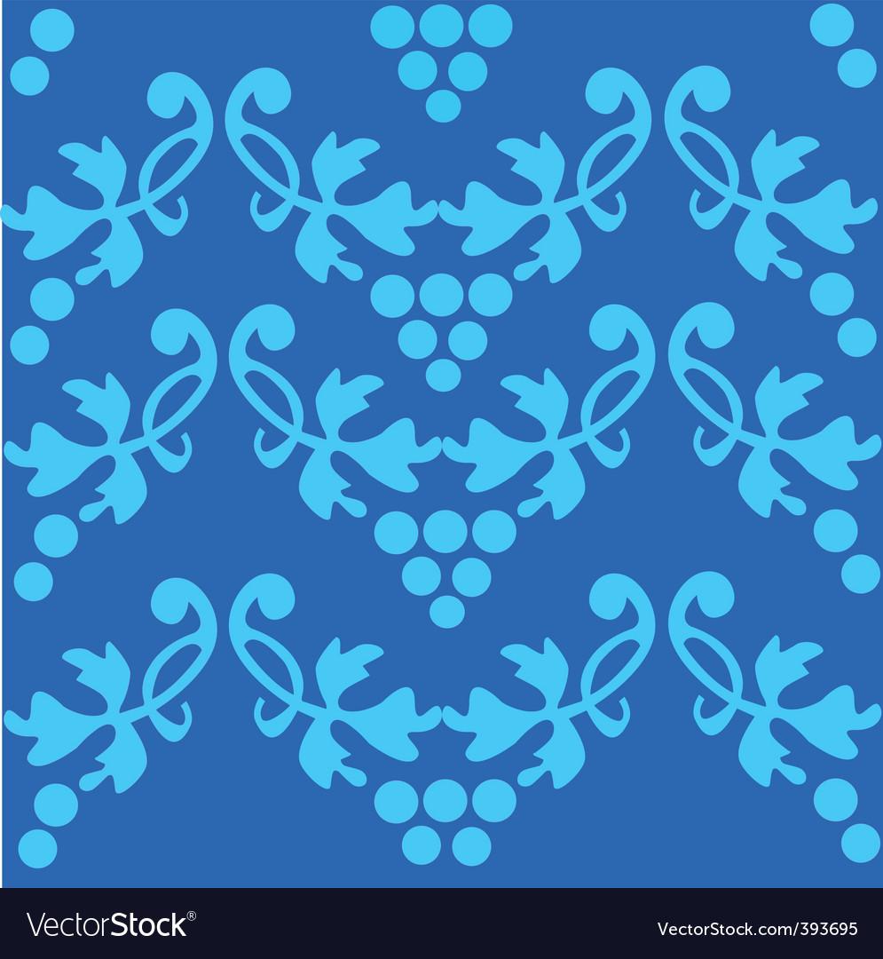 Floral filigree pattern vector | Price: 1 Credit (USD $1)