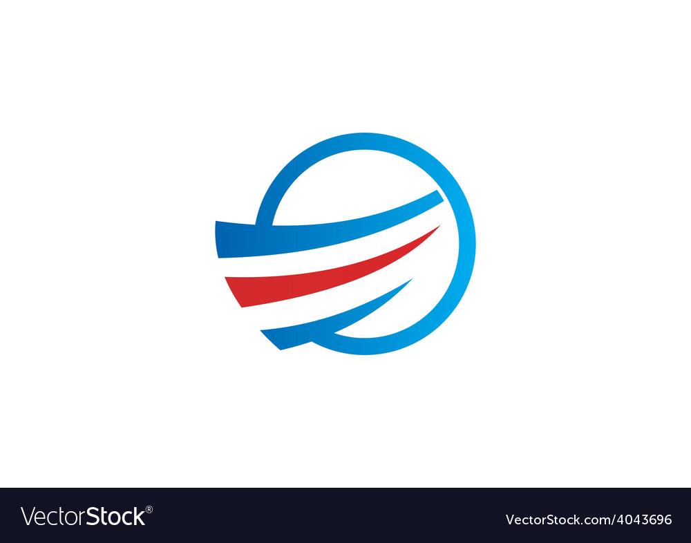Air flow swirl business logo vector | Price: 1 Credit (USD $1)