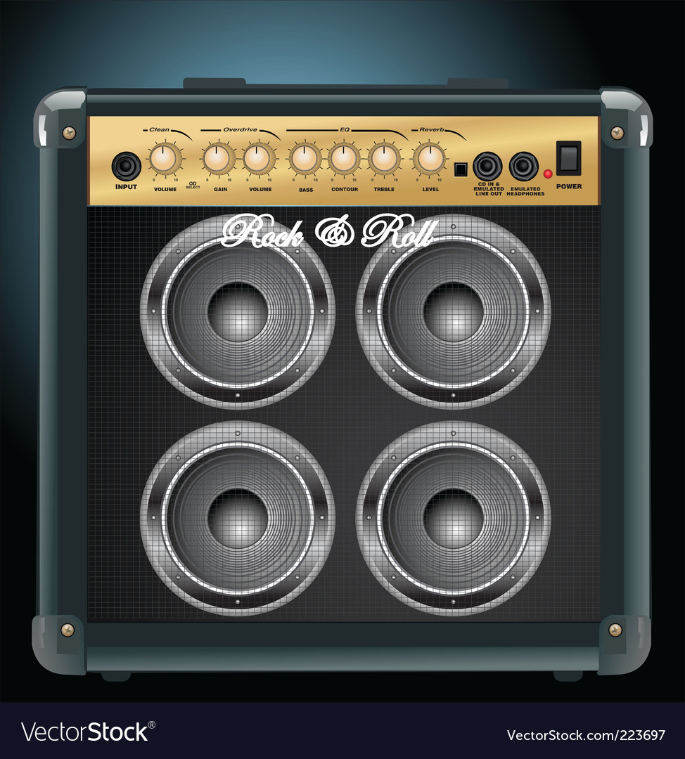 Amplifier vector | Price: 1 Credit (USD $1)