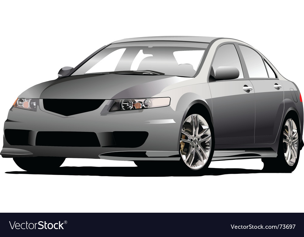 Car sedan vector | Price: 1 Credit (USD $1)