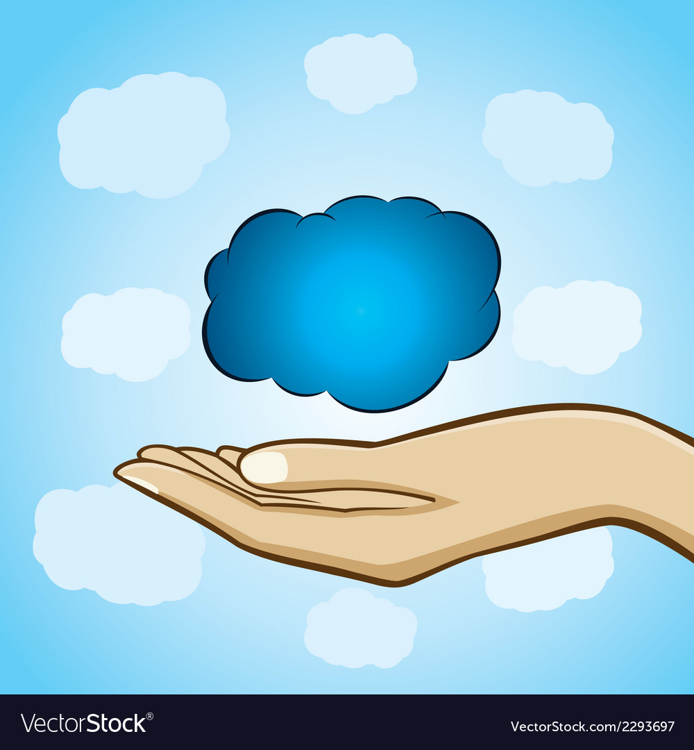 Cloud computing concept stock vector | Price: 1 Credit (USD $1)