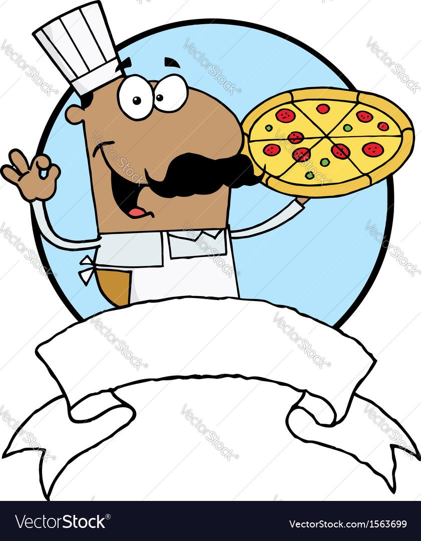 Cartoon chef vector | Price: 1 Credit (USD $1)