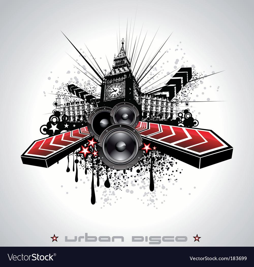 Urban grunge element vector   Price: 3 Credit (USD $3)