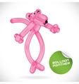 Glossy balloon animal vector