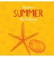 Summer holidays background vector