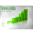 Graph green text vector