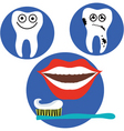 Dental health vector