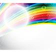 Abstract festive rainbow background vector