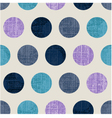 Seamless abstract polka texture vector
