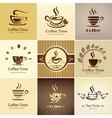 Coffee icons big set vector