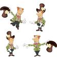 Gnome set cartoon vector