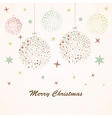Christmas background retro vector