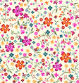 Ditsy floral vector
