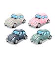 Toy beetle car vector