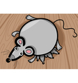 Mouse mother with babies cartoon vector