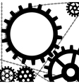 Gears and chains vector